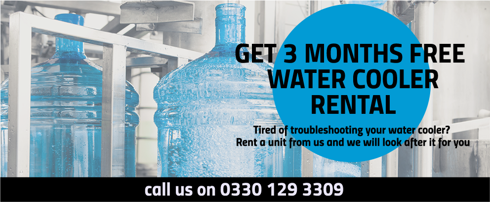 3 month free rental Troubleshooting your water cooler