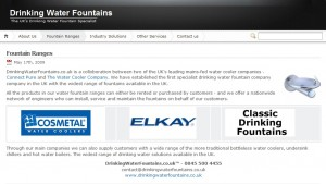 drinking water fountains website 300x169 Drinking Water Fountains website launched
