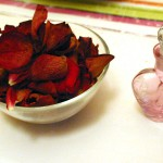 rose petals in a bowl 150x150 Make your own Rose or Orange Blossom Water