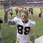 Jeremy Shockey kicked the water cooler