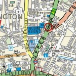 map of water cooler islington