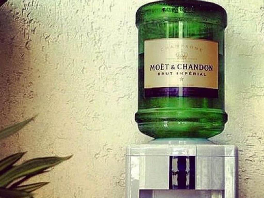 Private Label Water Cooler Bottles Moet Amp Chandon
