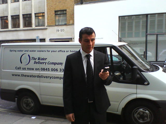 the water delivery company joe calzaghe Our Staff are at the heart of our business