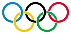 Olympic Rings 300x145 Water Deliveries During the Olympics