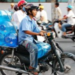 water cooler delivery motorbike 150x150 Water Cooler Bottle Delivery   Different Styles Part 1
