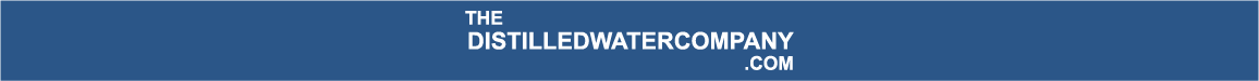 distiled water company logo Distilled Water | Delivered Direct across the UK