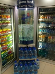 ozone fresh water stand spar hout bay cape town 1 224x300 Ozonated Water Point of Sale   Hout Bay