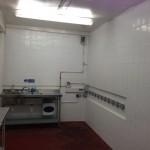 water cooler sanitisation room