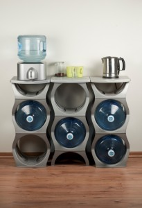 u water bottle rack