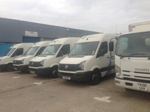the water delivery company fleet sept 2013 300x225 Our Fleet of Vans