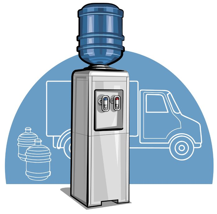 Bottled water cooler