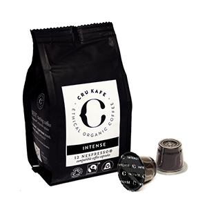 CruKafe Intense Roast Nespresso Compatible Pods