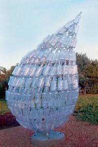 water cooler bottle sculpture 200x300 Reusable Water Bottles