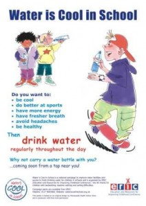 water-is-cool-in-school-poster