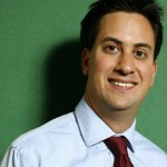 ed miliband enjoys his office water cooler