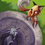 share the fox and the goat fable around the office water cooler