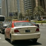 bottled water coolers are getting into Dubai taxis