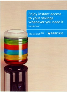 barclays zenith water cooler advert web 220x300 Barclays feature Zenith water cooler in new advert