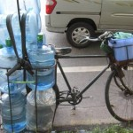 water cooler bottle bicycle 2 150x150 Water Cooler Bottle Delivery   Different Styles Part 1