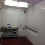 water cooler sanitisation room