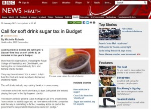 soft drink sugar tax 300x218 Call for soft drink sugar tax in Budget
