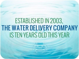 The Water Delivery Company is Ten Years Old
