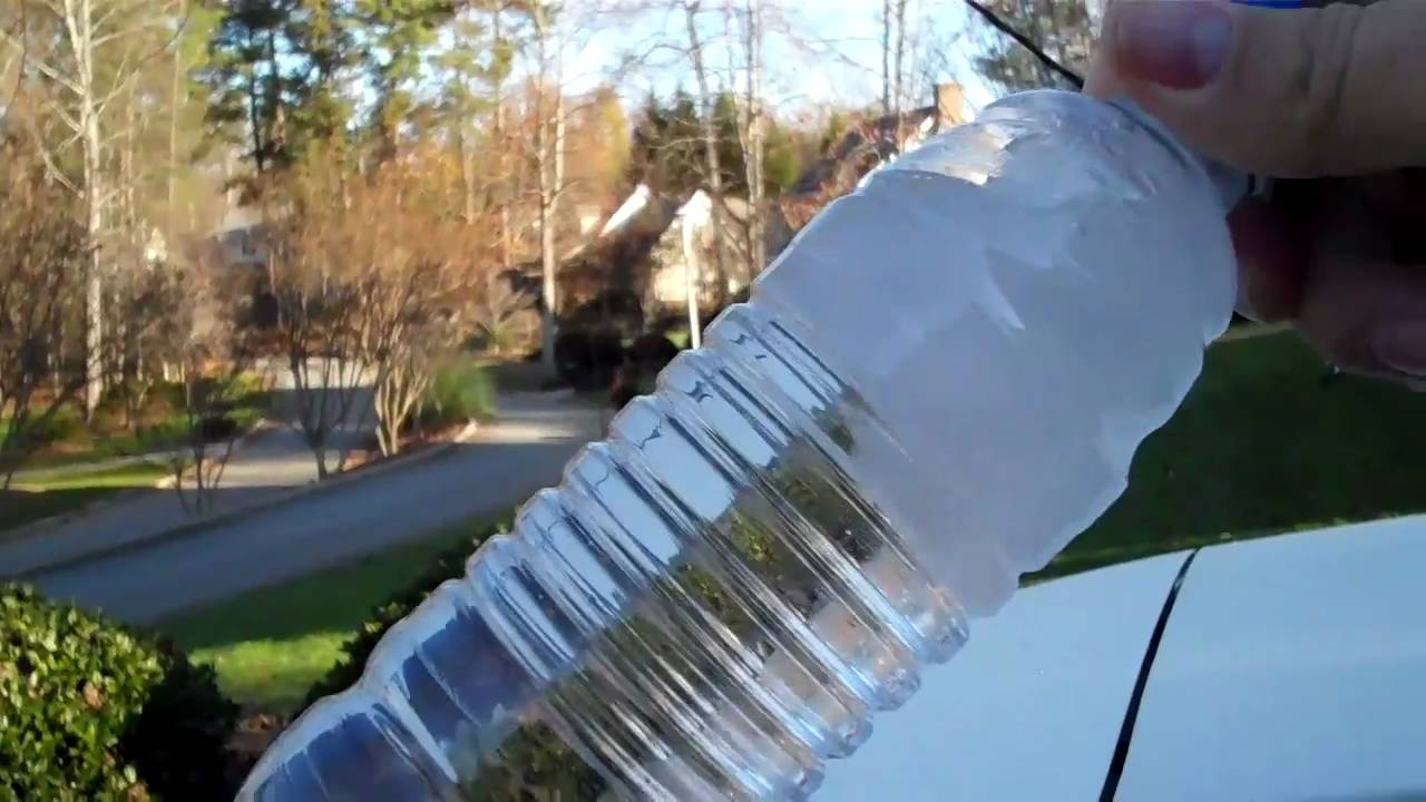 supercooling water experiment