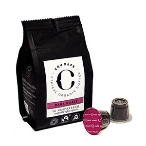 CruKafe dark roast pods Test 21   Coffee Products