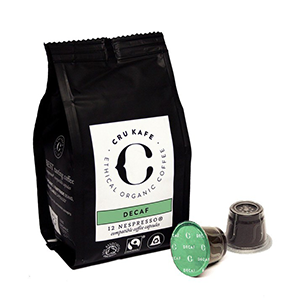 Crukafe decaf pods Test 21   Coffee Products