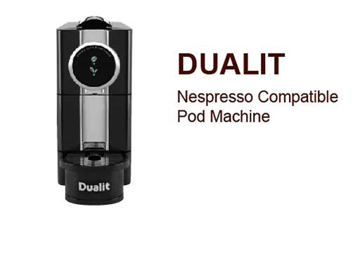 Dualit Nespresso Compatible Pod Machine