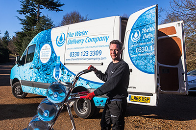 Unrivalled service | The Water Delivery Company