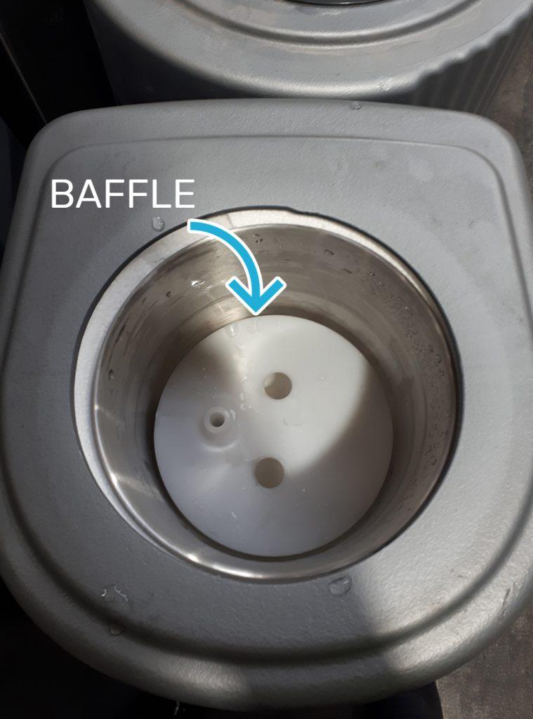 loose baffle